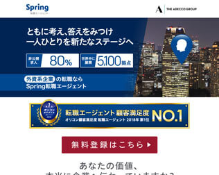 Spring転職エージェント・画像